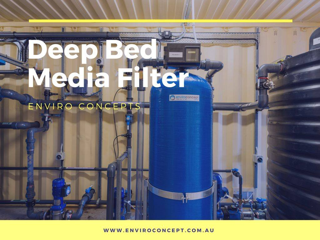 Deep Bed Filter Enviro Concepts Waste Water Treatment