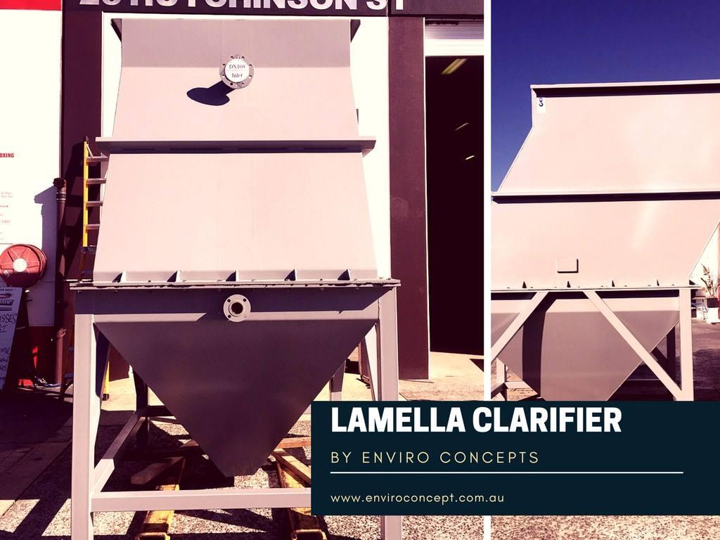 Clarifiers Lamella Clarifier Enviro Concepts Waste