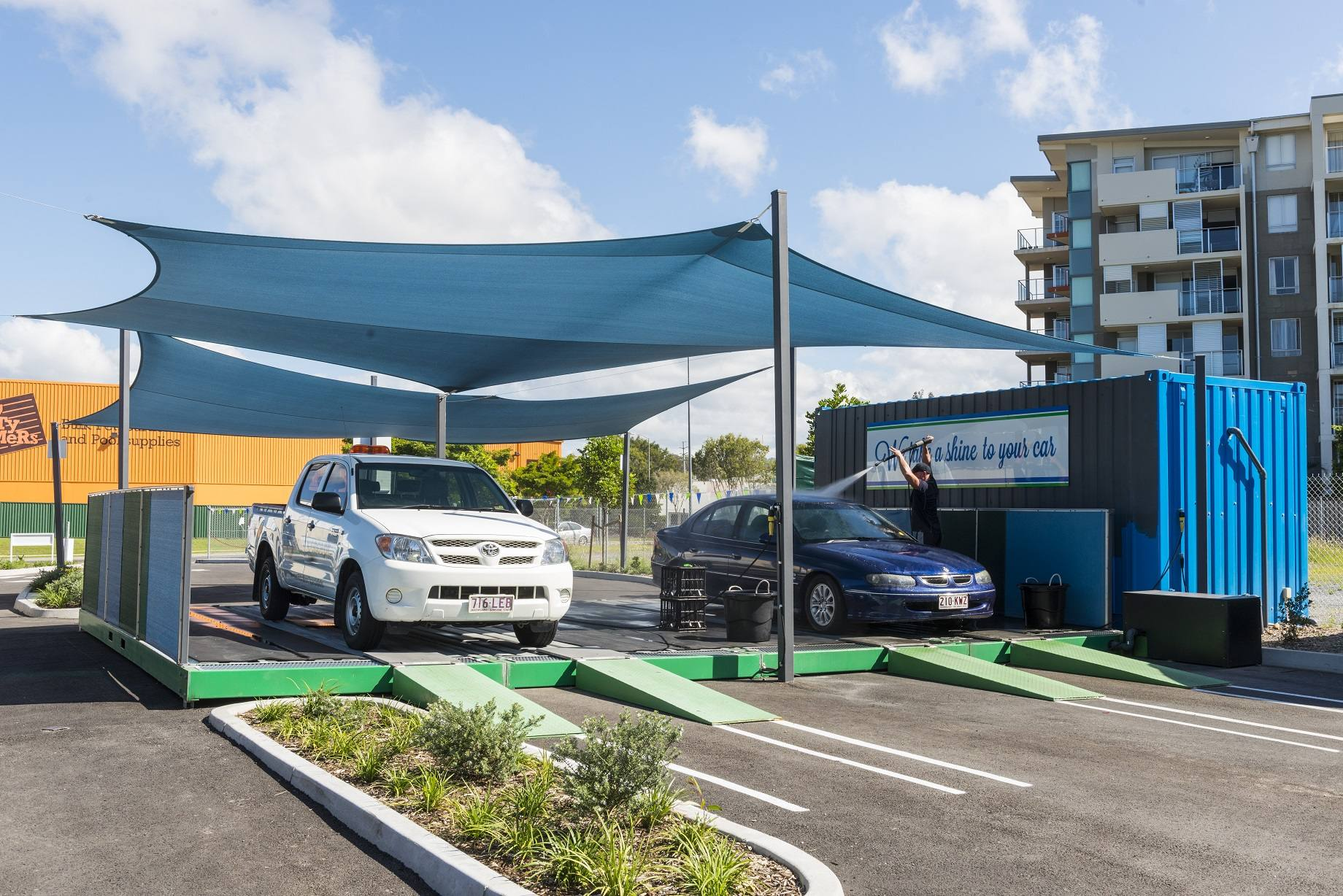 Carwash Rix Enviro Concepts Waste Water Treatment And