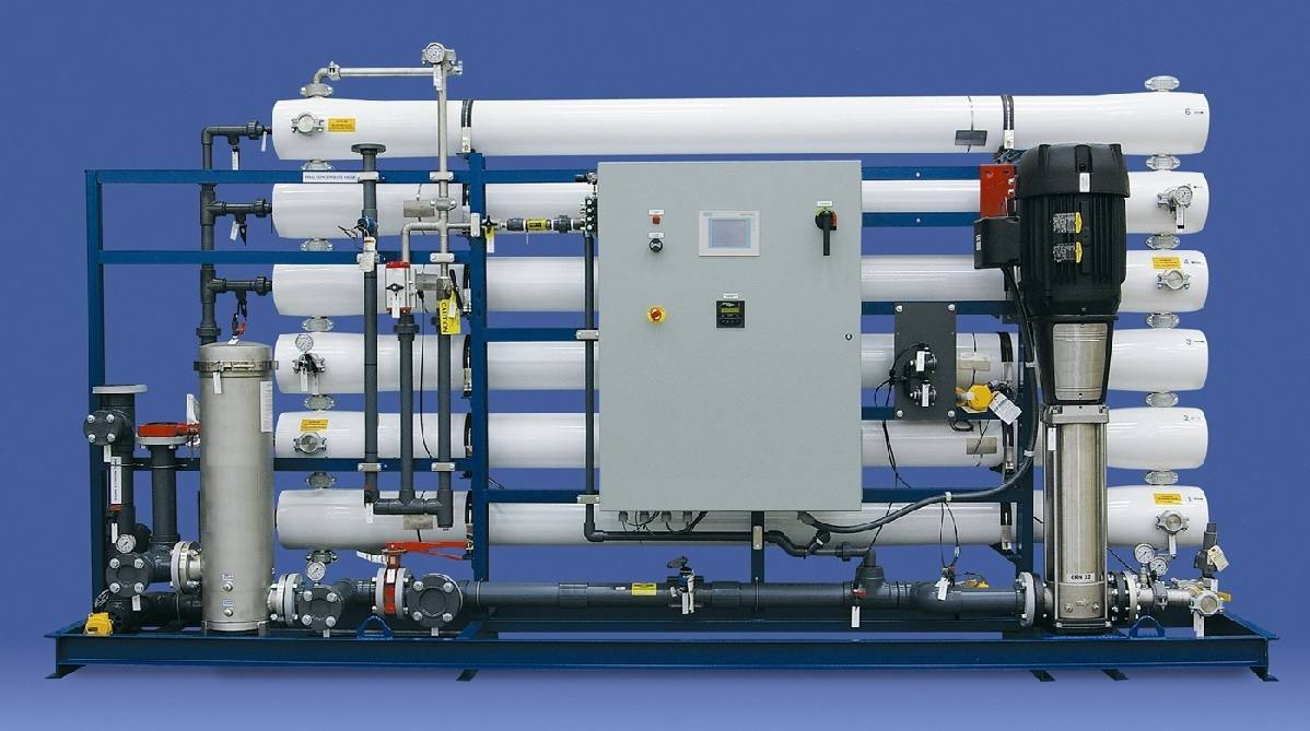 reverse osmosis for wastewater recycling